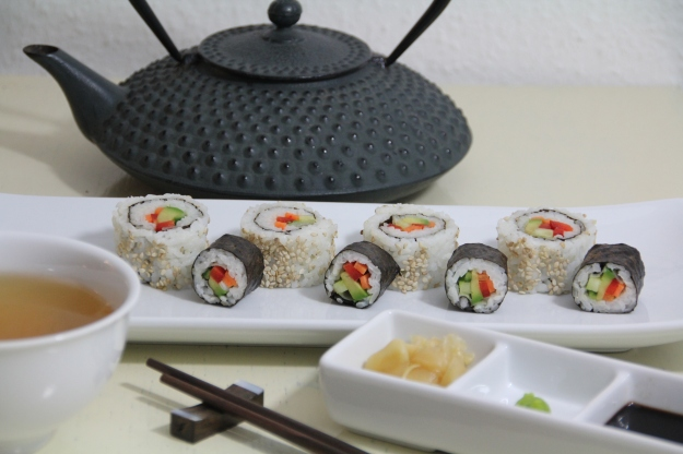 Sushi (vegan, glutenfree)