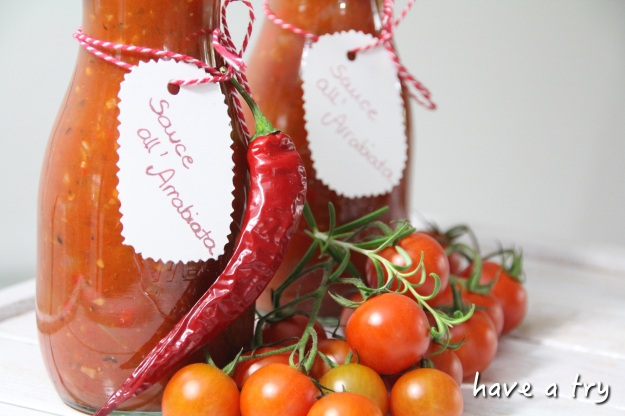 Sauce all´Arrabiata selbstgemacht (vegan, glutenfrei)