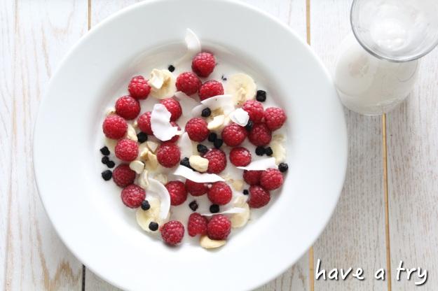 Cashewmilch mit Früchten und Superfoods (801010)